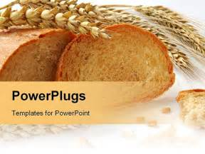 powerpoint recipe template powerpoint template wheat and grains bread with gluten