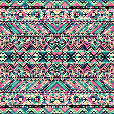 tribal pattern on canvas pink turquoise girly aztec andes tribal pattern stretched