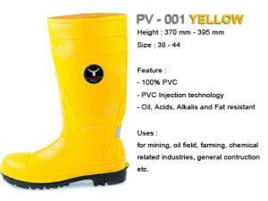 Harga Sepatu Boot Karet Warna Kuning sepatu boots petrova kuning yellow karet