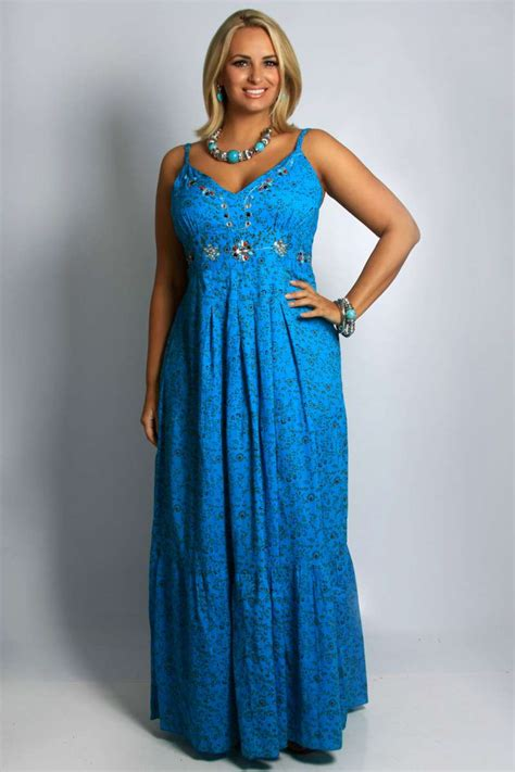 maxi dresses plus size for wedding (7) : Outfit4girls.Com