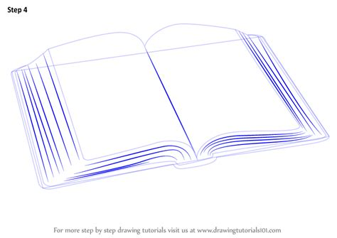 how to draw books learn how to draw an open book everyday objects step by