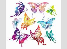 Butterfly Vector - Free Vector Site   Download Free Vector Art Free Clipart Downloads Butterflies