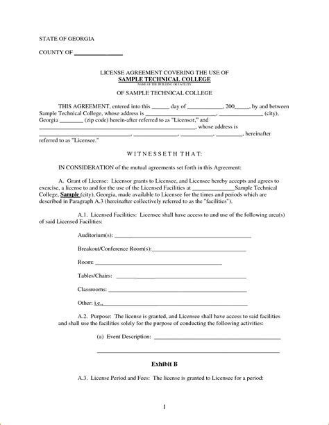 printable basic rental agreement or residential lease 7 basic rental agreement printable receipt