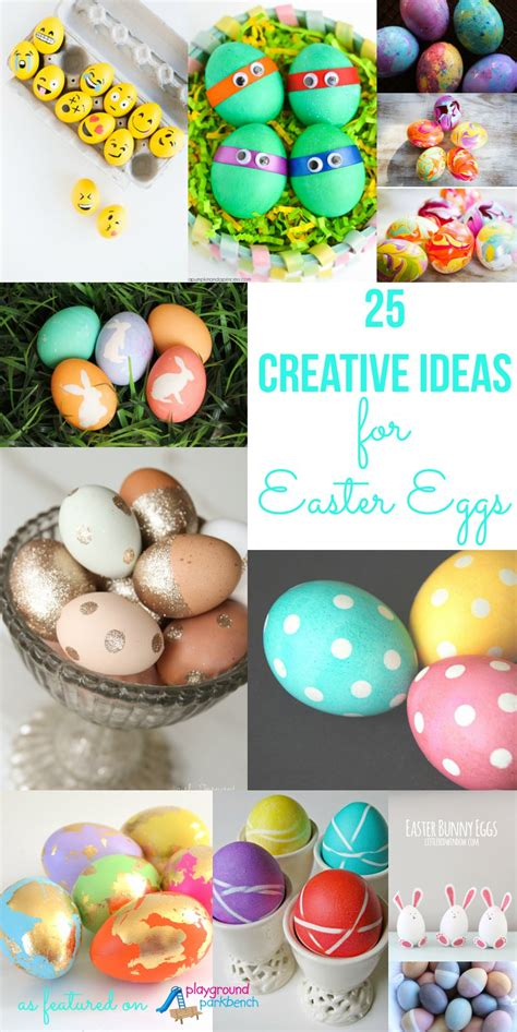 ideas for easter eggs 25 creative ideas for decorating easter eggs