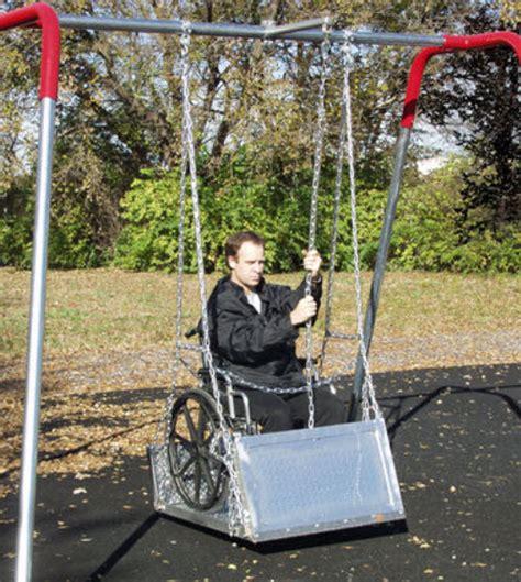 wheelchair swing wheelchair swing platforms playground equipment