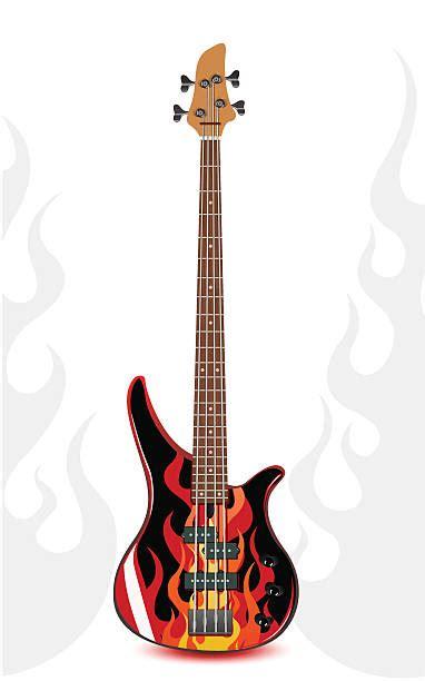 flaming guitar clip art  clip art