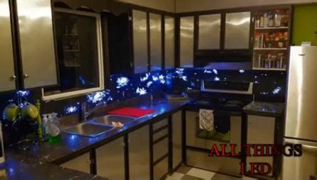 led backsplash kitchen mess bing images