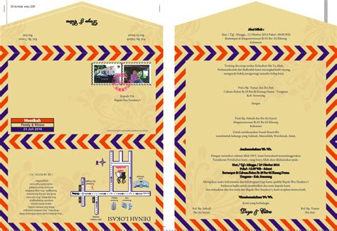 download desain kartu undangan pernikahan cdr download undangan gratis desain undangan pernikahan