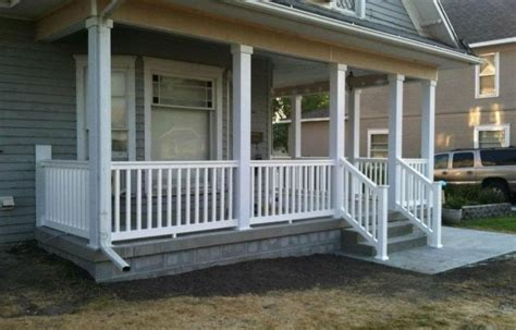 front porch banisters wooden porch railing designs jbeedesigns outdoor good