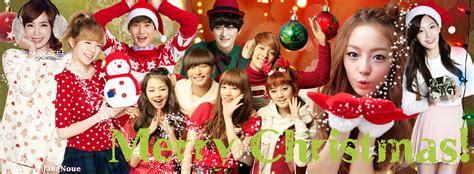 kpop theme christmas party k pop christmas facebook cover by jangnoue on deviantart
