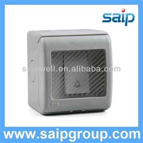 Bel Rumah Wireless Tahan Air Waterproof Forecum kualitas tinggi ip55 tahan air bel menekan tombol switch dengan penutup switch id produk