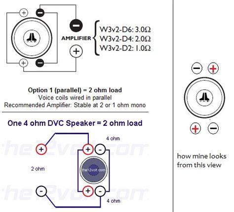 jl audio w6 wiring diagram 26 wiring diagram images