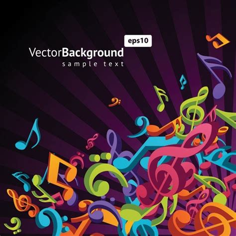 themes songs free download theme music notes vector 3 free vector in encapsulated