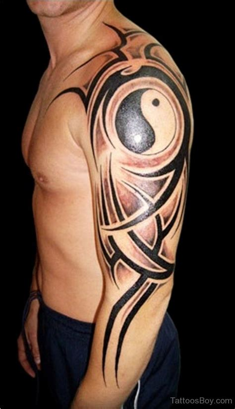 yin yang tribal tattoo designs yin yang tattoos designs pictures page 2