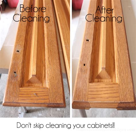 How To Clean Painted Kitchen Cabinet Doors How To Paint Kitchen Cabinets A Step By Step Guide Confessions Of A Serial Do It Yourselfer