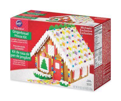 gingerbread house kit michaels gingerbread house kit christmas crafts pinterest
