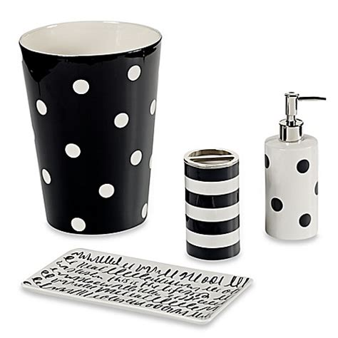 kate spade bathroom kate spade new york deco dot bath ensemble bed bath beyond