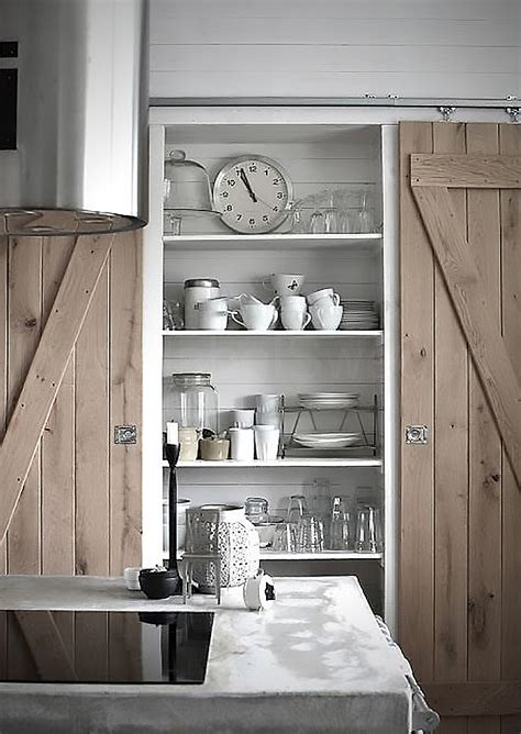sliding door kitchen cabinets sliding barn doors pinspiration my warehouse home