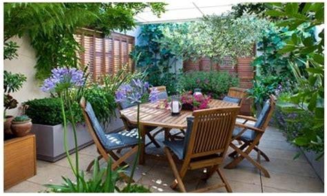 roof terrace furniture small garden terrace idea