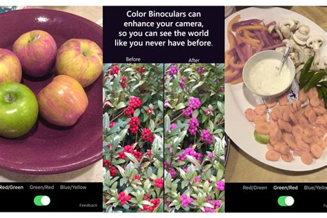 color blind app microsoft s new app lets colorblind see the world a