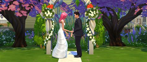 Wedding Cake Sims 3 Xbox 360 by Social Events Throwing A In The Sims 4
