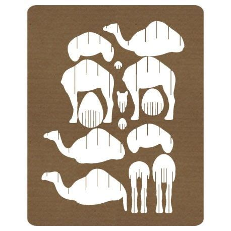 Nativity Play Camel Dromedary Puzzle 3d Animali Carta Laser Cut Template Ag 183 Gior 183 Na 183 Men 183 To Laser Cut Puzzle Template