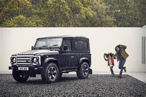 land rover defender 2016 khan the overfinch defender 40th anniversary edition design