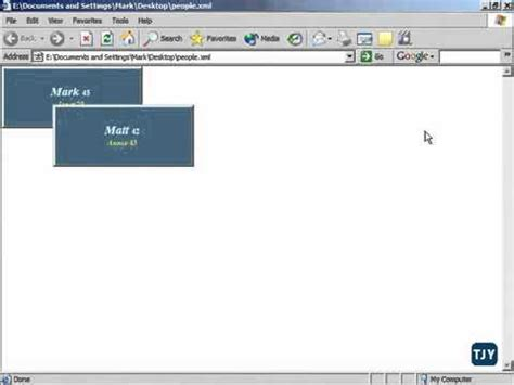 css tutorial in xml xml tutorial 49 css positioning youtube