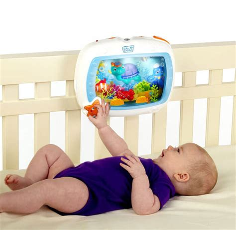 aquarium for baby crib aquarium soother for babies i want that momma