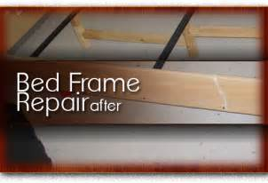 Wooden Bed Frame Repair Chicago Home Office Wood Repair