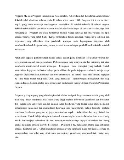 contoh karangan nilai murni contoh 36
