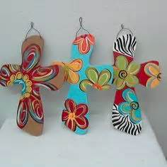 Handcrafted Items - 1000 ideas about painted crosses on