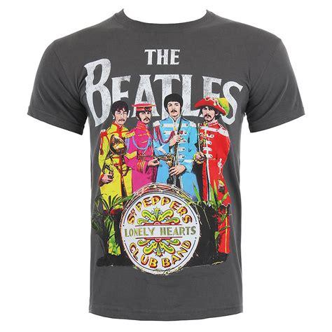 The Beatles Tshirt the beatles sgt pepper print t shirt blue banana uk