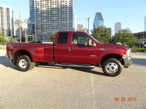 car owners manuals for sale 2002 ford f350 transmission control sell used 2004 ford f350 xlt low miles v8 6 0l diesel dually 5 speed manual 4x4 very nice in