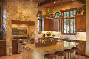 hill country style southwestern kitchen
