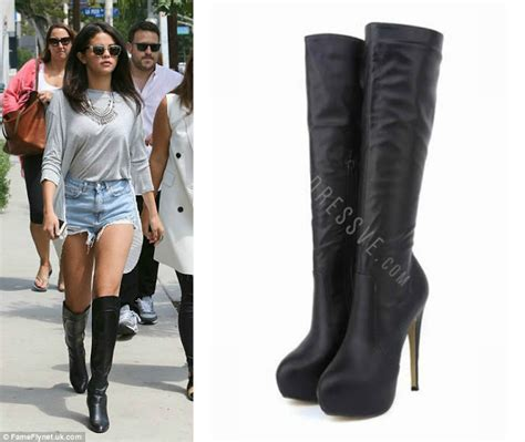 3 ways to wear knee high boots from dressve
