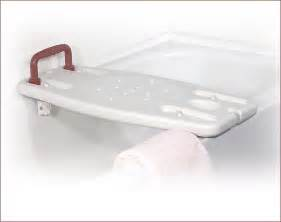 portable shower bench with handle