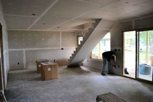 drywall in basement drywall basement ak britton construction llc