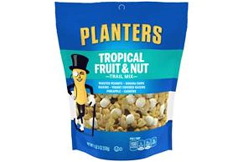 Planters Trail Mix Fruit And Nut by Planters Tropical Fruit Nut Trail Mix 19 Oz