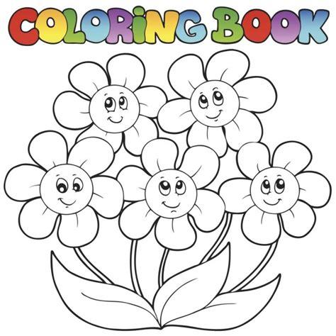 imagenes e flores para colorear dibujos de flores para colorear e imprimir imagui