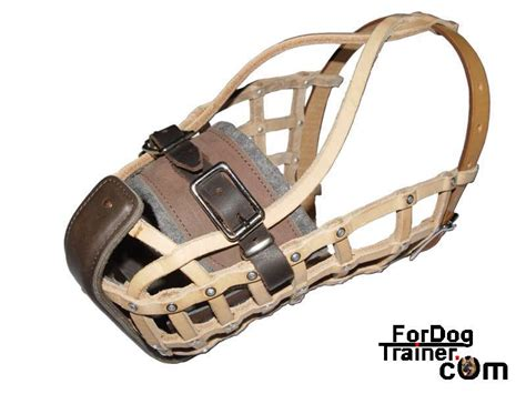 basket muzzle leather muzzle leather muzzles
