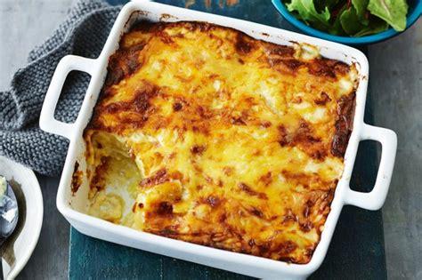 bacon cheese potato bake recipe cheesy potato bake recipe taste au