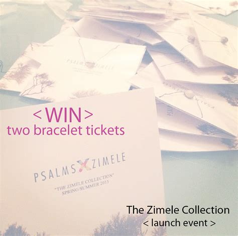 Win Tickets To The Fashion Event Of The Year by Win 2 Bracelet Tickets To The Pslamsxzimele Launch Event