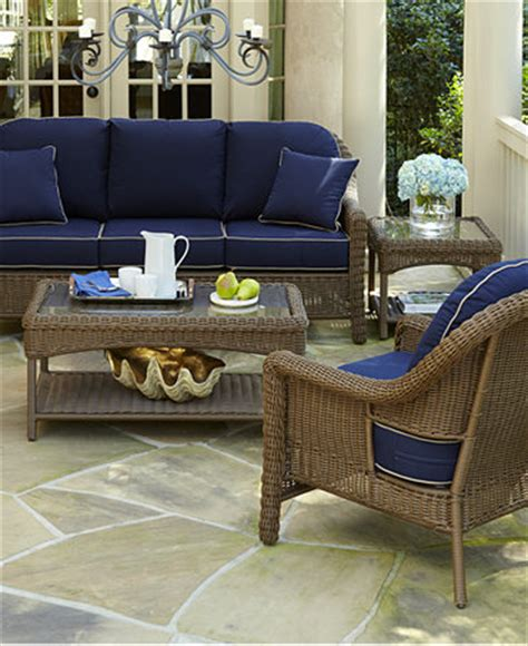 Macy Patio Furniture Haverton Outdoor Patio Furniture Seating Sets Pieces Furniture Macy S
