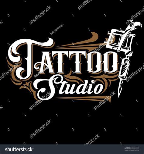 design studio logo vector templates vector tattoo studio logo templates on stock vector