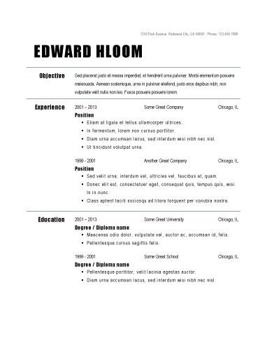 job resume template 10 weekly planner template monday to friday