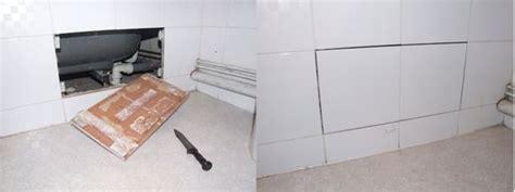 comment poser trappe visite sous baignoire la r 233 ponse