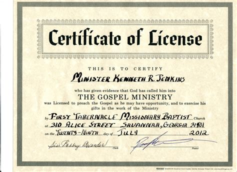section 149 certificate baptist minister certificate pictures to pin on pinterest
