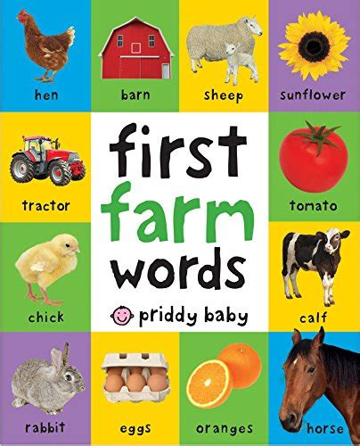 My Noisy Words Tiny Tots Sound Board Book Buku Impor Anak farm animals books and educational resources the homeschool