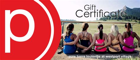 Pure Barre Gift Card - portfolio tinbox marketing solutions inc